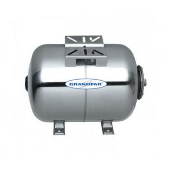 Гидроаккумулятор для насосных станций горизонтальный (24 л) GRANDFAR